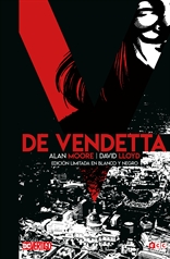 V de Vendetta - Edición Deluxe limitada en blanco y negro