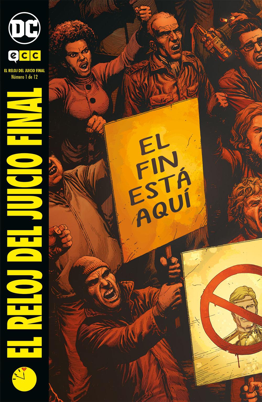 El Reloj Del Juicio Final Num 01 De 12 Ecc Comics