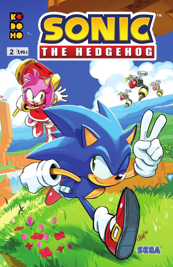 Sonic The Hedgehog núm. 02