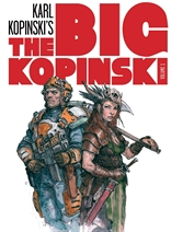 The Big Kopinski vol. 01 - Sketches e ilustraciones de Karl Kopinski