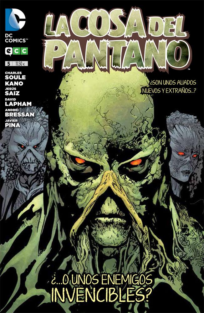 01 -  [Comics] Siguen las adquisiciones 2016 - Página 8 Cosa_pantano_num5