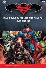 Batman y Superman - Colección Novelas Gráficas núm. 75: Batman/Superman: Asedio
