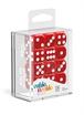 Oakie Doakie - Dados D6 Sólidos - Rojo (16mm)