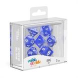 Oakie Doakie - Dados RPG Translúcidos - Azul
