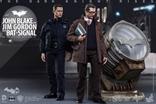 Hot Toys - JOHN BLAKE Y JIM GORDON CON BATSEÑAL The Dark Knight Rises / Figuras de acción escala 1/6