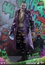 Hot Toys - JOKER Purple coat Ed. Exclusiva Suicide Squad / Figura de acción escala 1/6