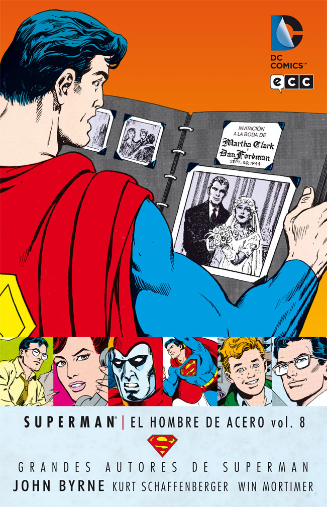 Grandes Autores de Superman: John Byrne - Superman: El