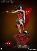Sideshow - Premium Format - WONDER WOMAN Red Son / Estatua escala 1:4