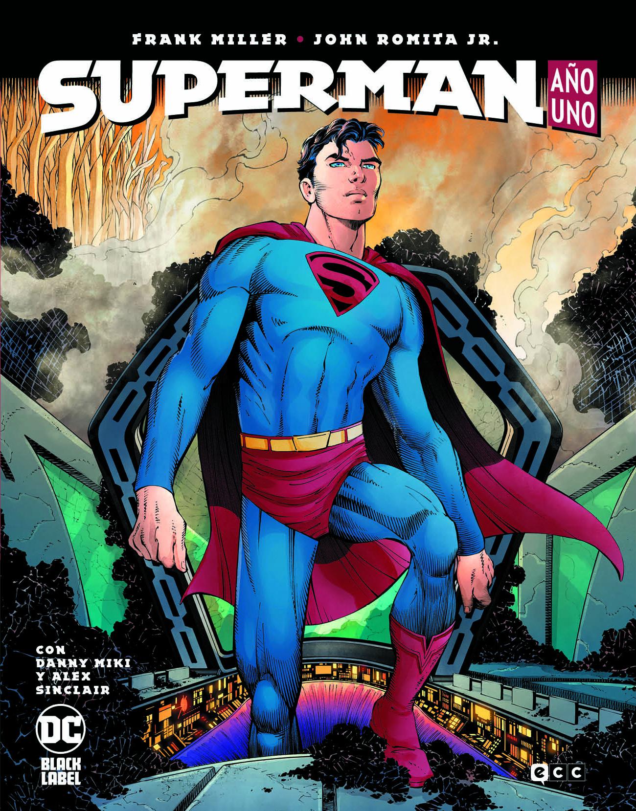 Reseña cómic Superman: Año Uno