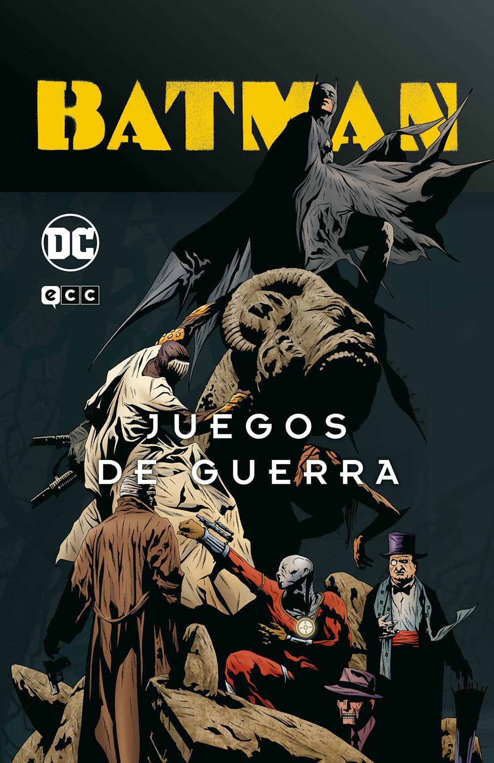 Reseña Batman: Juegos de Guerra