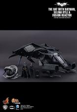 Hot Toys - THE BAT con BATMAN, CATWOMAN y Reactor The Dark Knight Rises / Fig. de acción escala 1/12