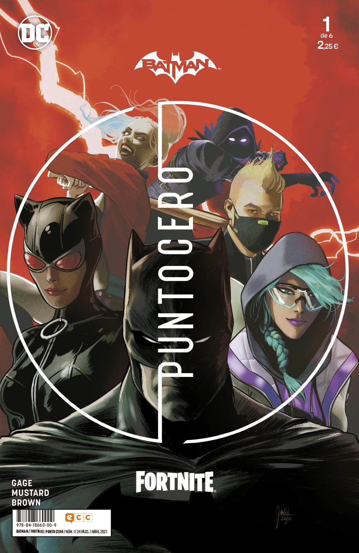 Batman/Fortnite: Punto cero núm. 01 de 6 - ECC Cómics