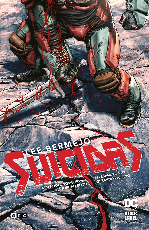 Reseña de Suicidas | Portada de la edición que recoge los dos volúmenes de la serie